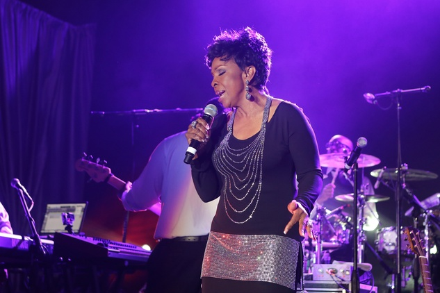 Gladys Knight at the Alley Ball April 2014