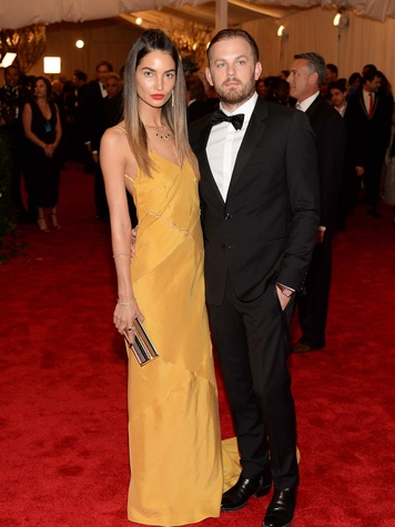 The Met Costume Institute Gala May 2013 Lily Aldridge and Caleb Followill