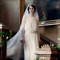 Downton Abbey, wedding gown
