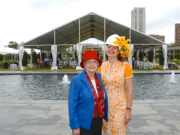 News, Shelby, Hermann Park Conservancy Hats in the Park, Kathrine McGovern, Doreen Stoller