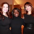 1 Alex Blair, from left, Clarease Yates and Karina Barbieri at the Recipe for Success' Dress for Dinner
