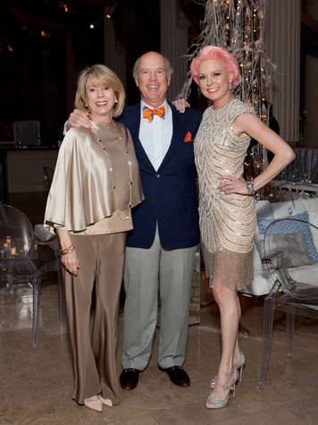 41 Marie and Bill Wise, from left, with Vivian Wise at the Night Circus party January 2014