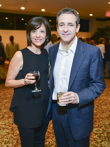 10 Linda and Steve Albert at the Zina Garrison Academy's 20th Anniversary Gala November 2013