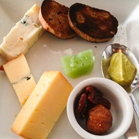 Philippe Wine Seminar May 2013 Phil's cheese plate