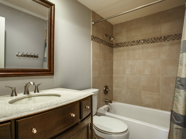 Bathroom at 1500 Stoneham Place in Richardson