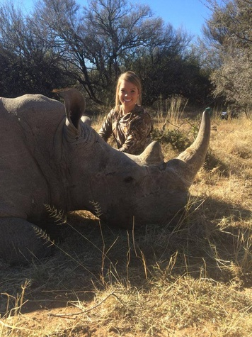 Kendall Jones kills animals in Africa and posts pictures on Facebook