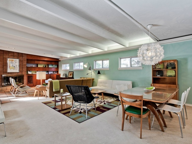 Living/dining Area At 11023 Pinocchio Dr. In Dallas Awesome Ideas