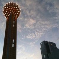 Dallas skyline, reunion tower
