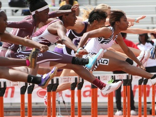 Austin Photo Set: News_Karen brooks_Texas Relays_April 2012_hshurrdle1