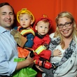 6 Joe and Erin Skalak with Doug and Charlie at the M.D. Anderson Kids Halloween October 2014
