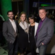 Josh Hammett, Kelly Hammett, Alicia Baum, Clay Baum at Heart of a Warrior Casino Night