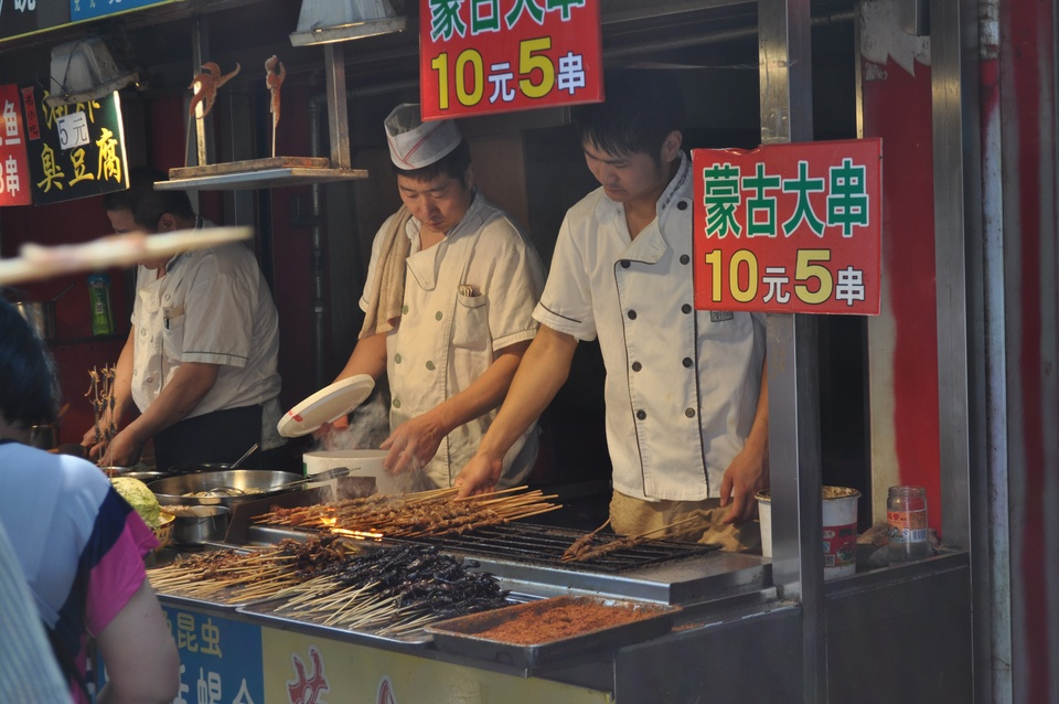 News, Shelby, Beijing market grills, June 2014