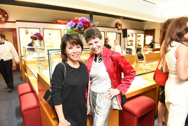 News, Zadoks Holiday Party, Dec. 2015,Christine Nguyen, Sylvia Brauer