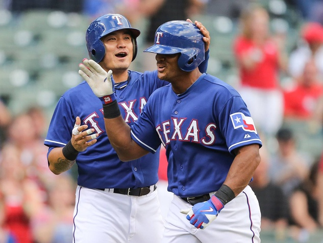 Adrian Beltre of Texas Rangers