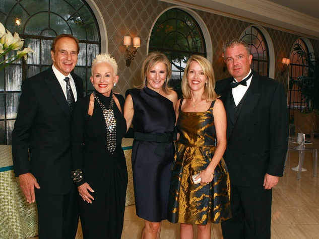 Don and Barbara Daeske (Honorary Chairmen), Wanda Gierhart (Auction Chairman), Heather and Bill Esping (Event Chairmen), TACA Auction Gala