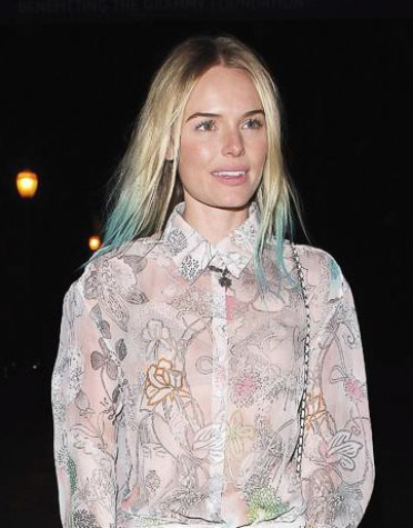 News_Kate Bosworth_blue tips_hair