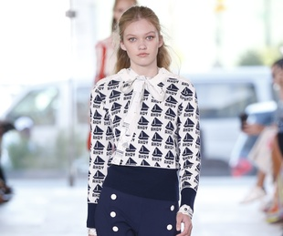 Tory Burch spring 2017 collection look 16