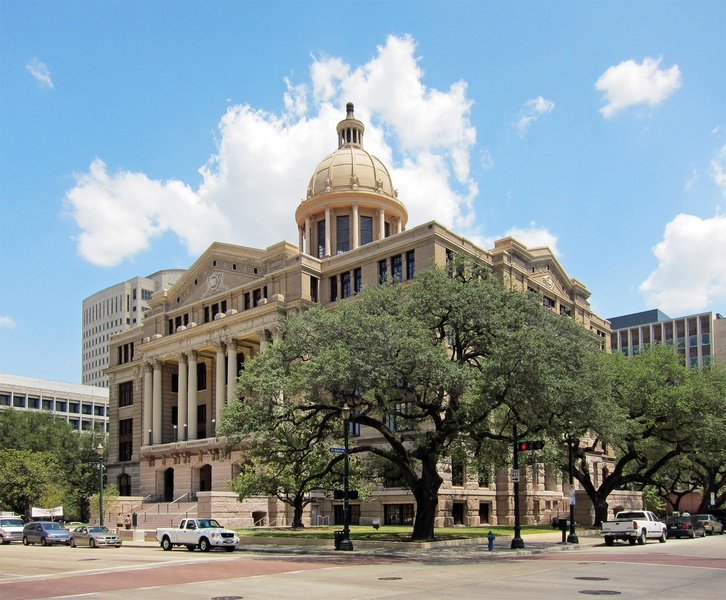 Harris County Courthouse, remodel
