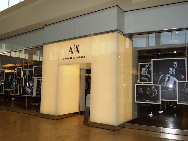 Michael where to shop right now September 2013 AX Armani Exchange - Remodel