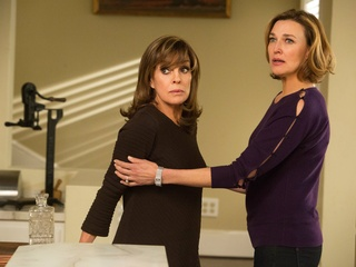 Linda Gray and Brenda Strong on season 3 of TNT's Dallas
