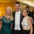 2935 Marie Bosarge, from left, with Mark and Christina Hanson at the Houston Symphony Centennial Ball May 2014