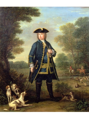 Houghton Hall MFAH Wootton - Sir Robert Walpole