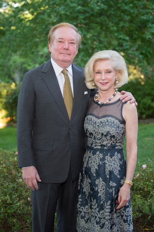 Bayou Bend Garden Party, April 2016, John Bookout, Ann Bookout