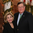 News, Shelby, Alley Theatre Holiday Party, December 2014, Sharyn Weaver, Jim Weaver