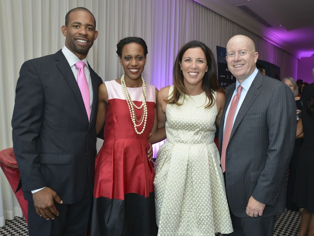 11 Greater Houston Partnership Gala August 2013 Marcus Wilkins, Rakel Wilkins, Anna Scholtes, Bret Scholtes