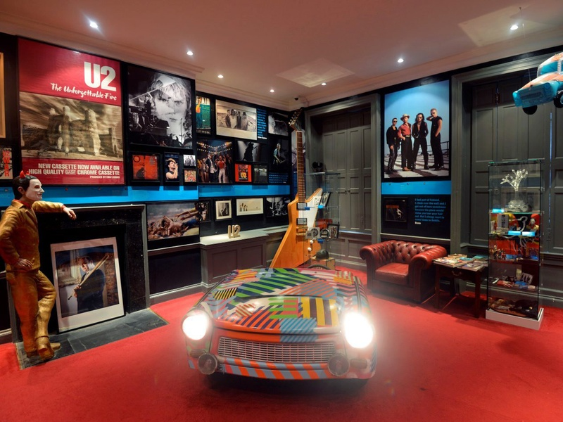 Houston, Little Museum of Dublin, U2 room, Sept 2017