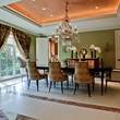 Dining room at 5800 Armstrong in Dallas