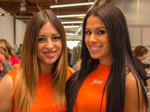 Audrey Pena, Trinity Slater at CultureMap Holiday Pop-up Shop 2014
