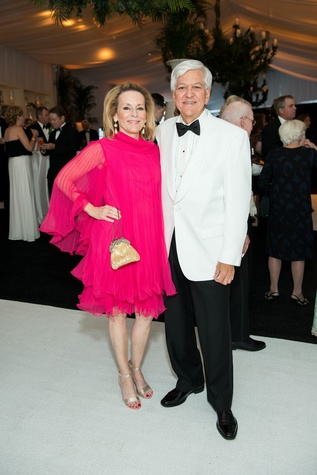 Jones Hall 50th Ball, Darlene Clark and Edwin Friedrichs