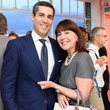 Jim Gold and Pamela Baxter at Neiman Marcus party