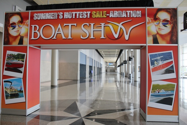 Boat Show, Sign, June 2012
