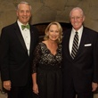 Robert and Marianne Ivany, from left, with Bill Flynn at the University of St. Thomas Irish Gala December 2013