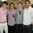 Matt Whalen, Steven Adams, Jack Brizendine, and Corbin Blount , chantilly shopping event