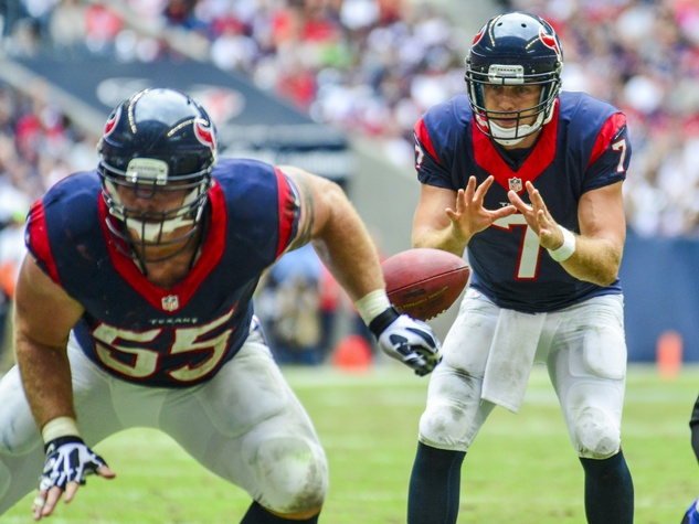 Case Keenum Texans snap