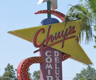 Chuy's, sign, Westheimer at Kirby