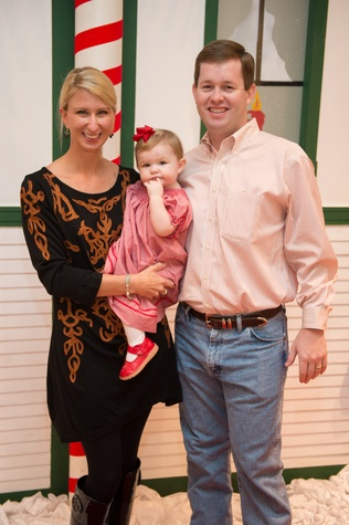 1 Allison Wallace, from left, Emmy Wallace and Chris Wallace at the M.D. Anderson Breakfast with Santa December 2014