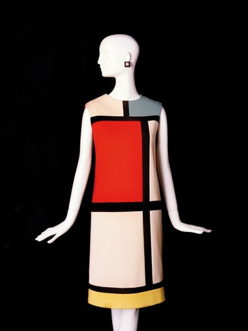 News_Donae Cangelosi Chramosta_Yves Saint Laurent_Denver Art Museum_March 2012_YSL tribute to Mondrian