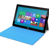 Microsoft Surface, tablet, blue keyboard