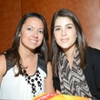 7 Mari Deshon, left, and Kristina Rosenwasser at the Cordua cookbook event November 2013