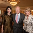 Dr. Kelli Cohen Fein, from left, Mike McSpadden and Jan Carson at the Foundation for Teen Health luncheon October 2014