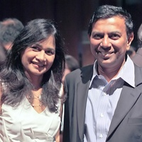 News_Indo American Charity Foundation party_Ana Bala_David Raj_July 2011