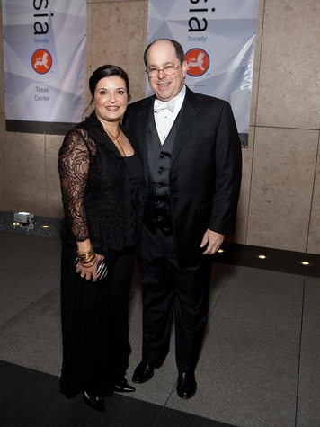 439 Sabria and Kevin Lewis at Tiger Ball March 2014