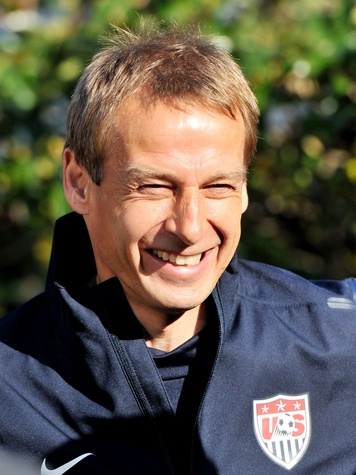 Jürgen Klinsmann U.S. men's soccer coach World Cup head shot