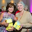 Lori Wolterman, left, and Bobetta Lindig at the Memorial Hermann Razzle Dazzle Pink Luncheon October 2013