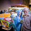 226 Catherine Murphy and Warren Couper at the Art Car Ball April 2015