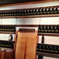 Darla, Premium Draught, beer, October 2012, Rows of growlers ready to be filled